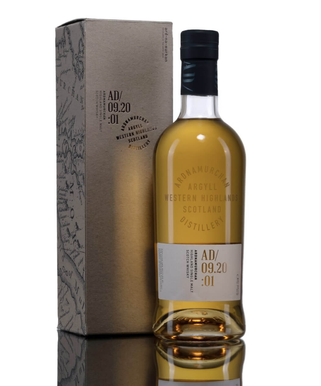 The inagural single malt Scotch whisky release from Ardnamurchan Distillery