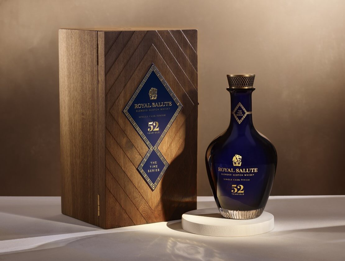 Royal Salute launches 52 Years Old single cask expression