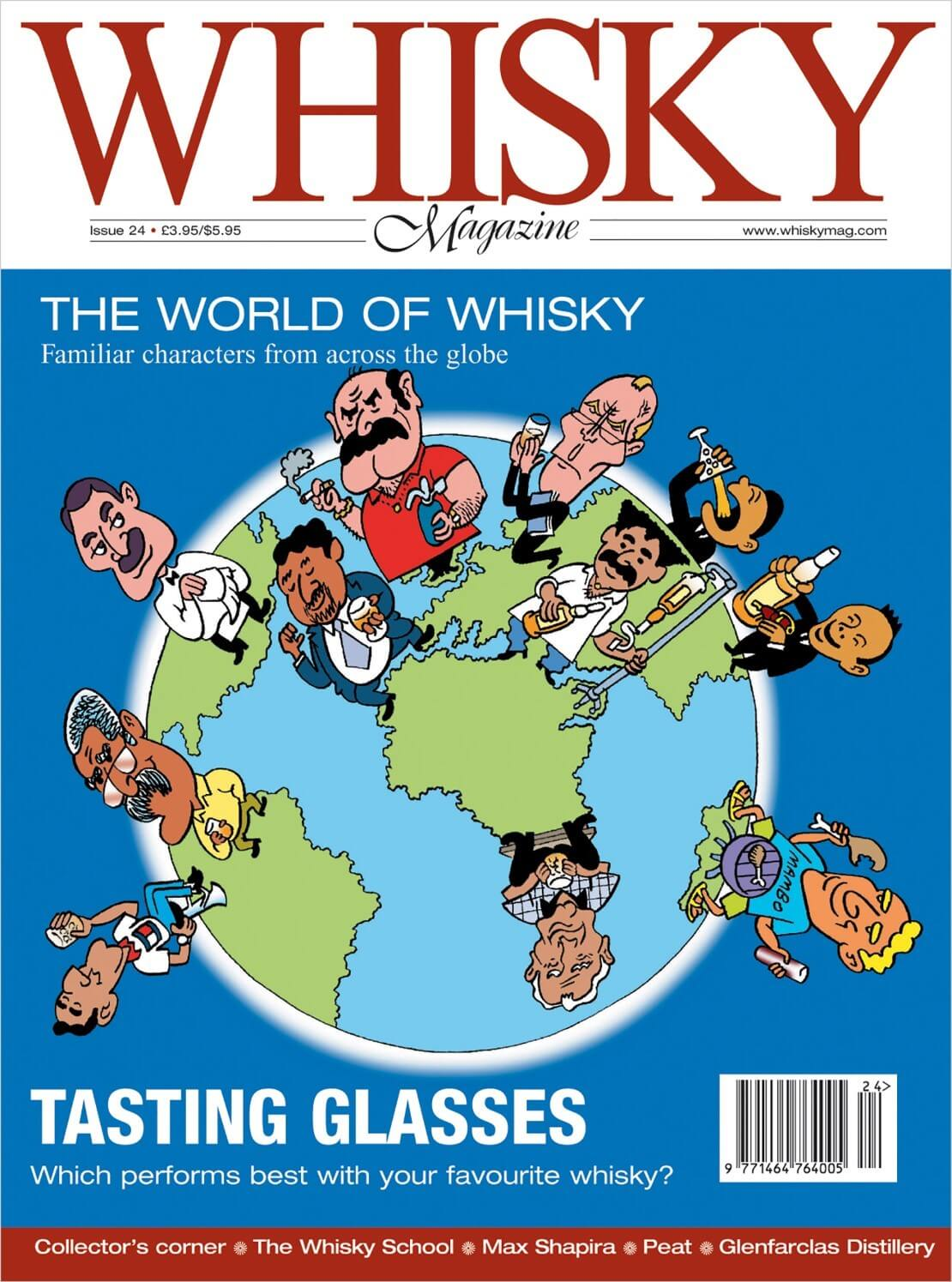 The world of whisky Max Shapira Glenfarclas New world whisky tasting