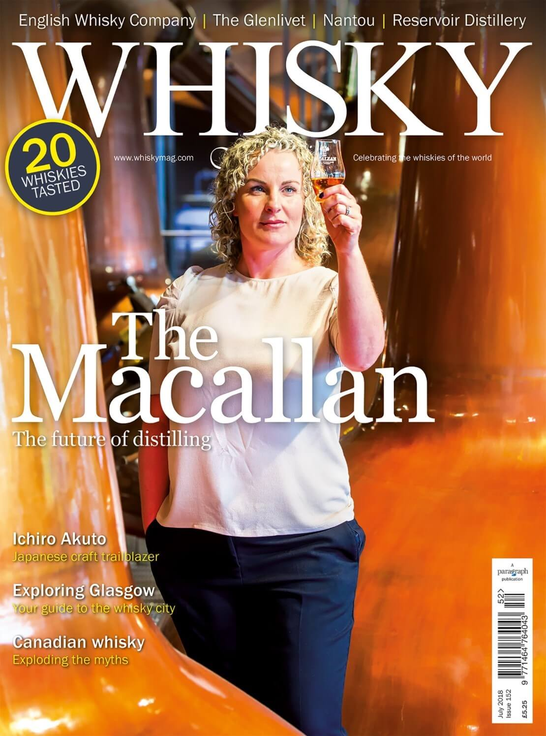 The Macallan Japanese craft Exploring Glasgow Canadian whisky