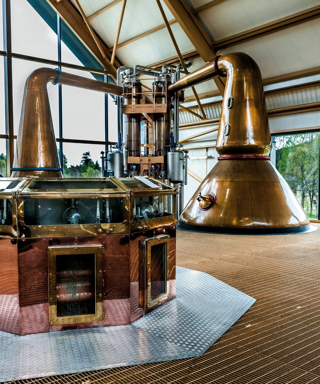 Dalmunach was designed to be Chivas Brothers' most energy efficient distillery