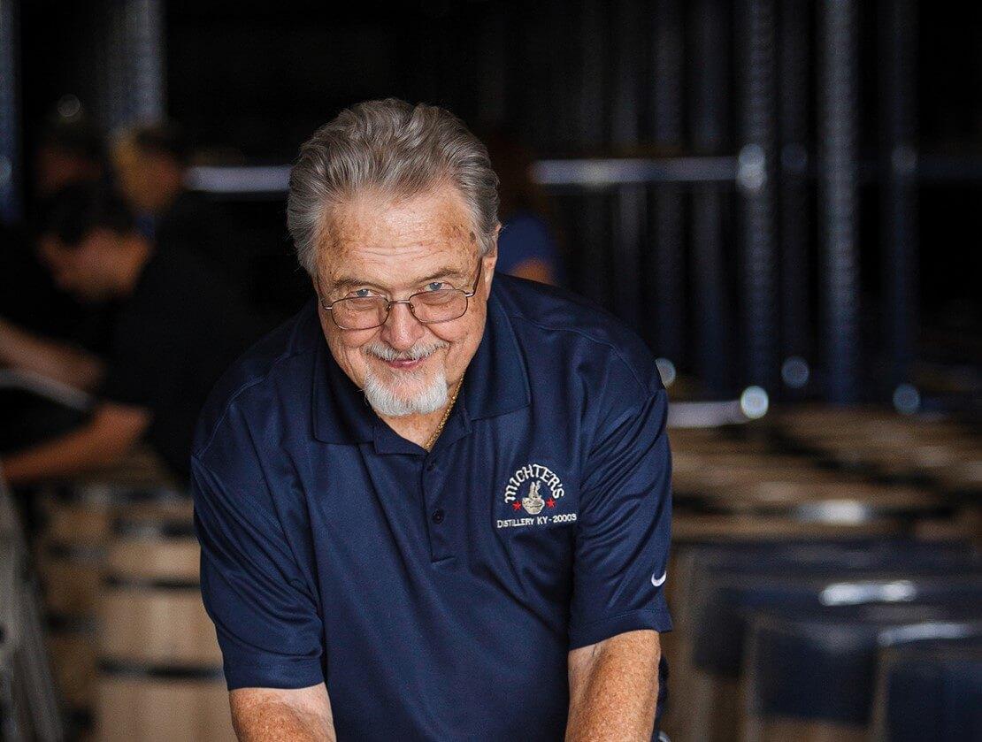Willie Prat, the late master distiller emeritus of Michter's
