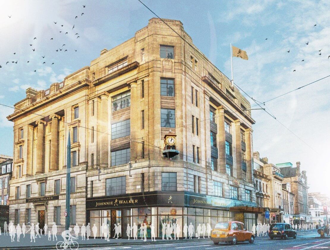 Johnnie Walker's flagship attraction gets the green light