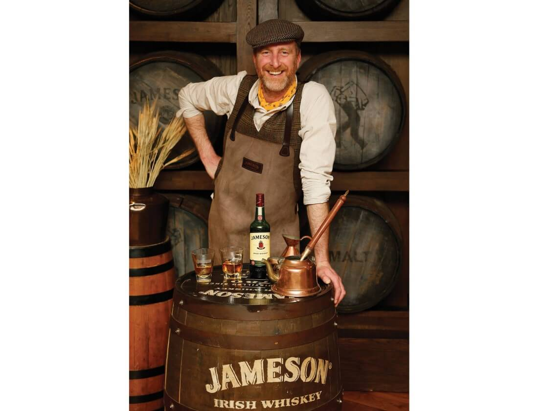 Drink whiskey with the Barrelman
