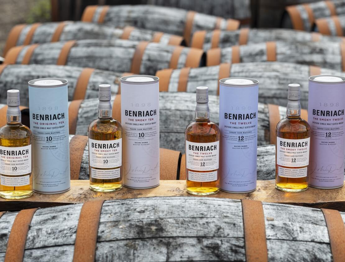 The new range from Benriach.