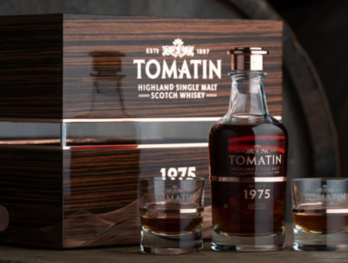 Tomatin releases 1975 Warehouse 6 Collection