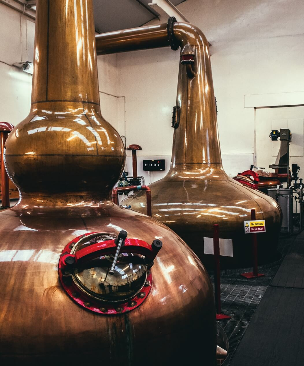 The Benromach still house