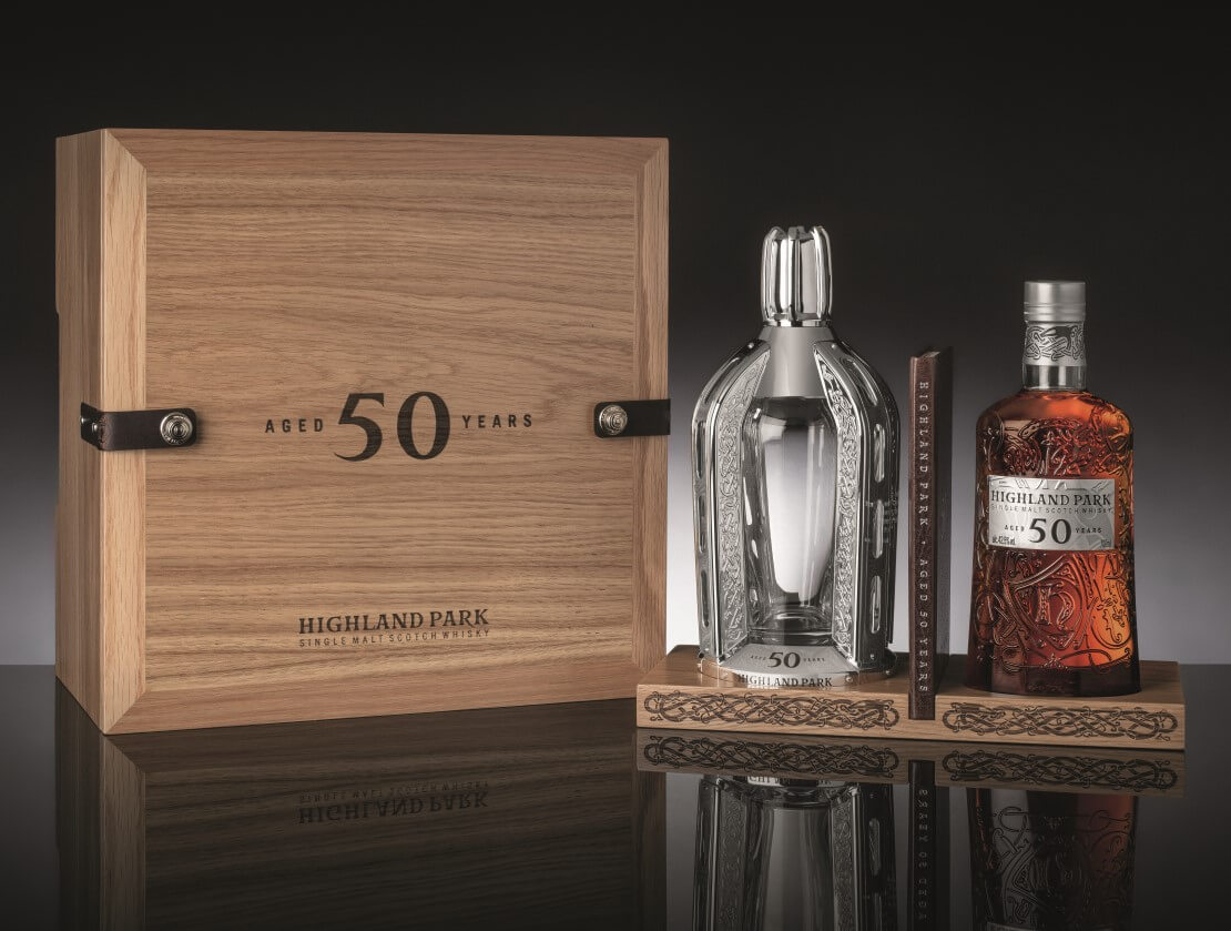 The new Highland Park 50 Years Old