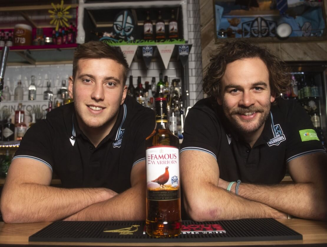 Glasgow Warriors turn whisky slingers