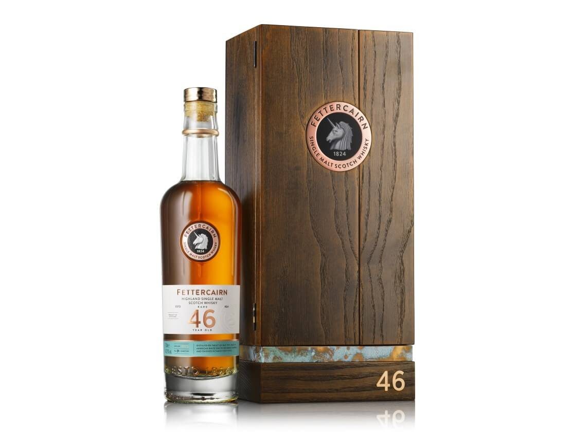Fettercairn unveils rare 46 Years Old