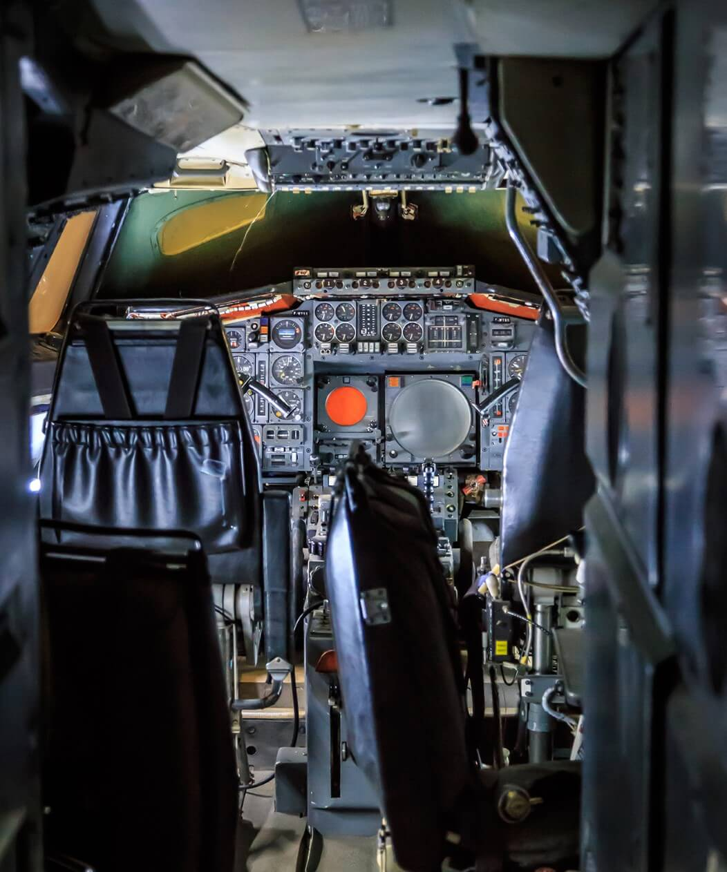 The space age cockpit