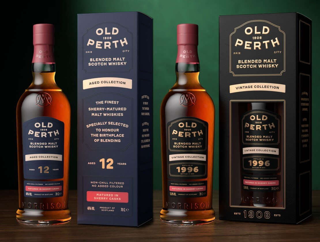 Morrison Scotch Whisky Distillers expands their Old Perth range to include two aged expressions - Whisky Magazine