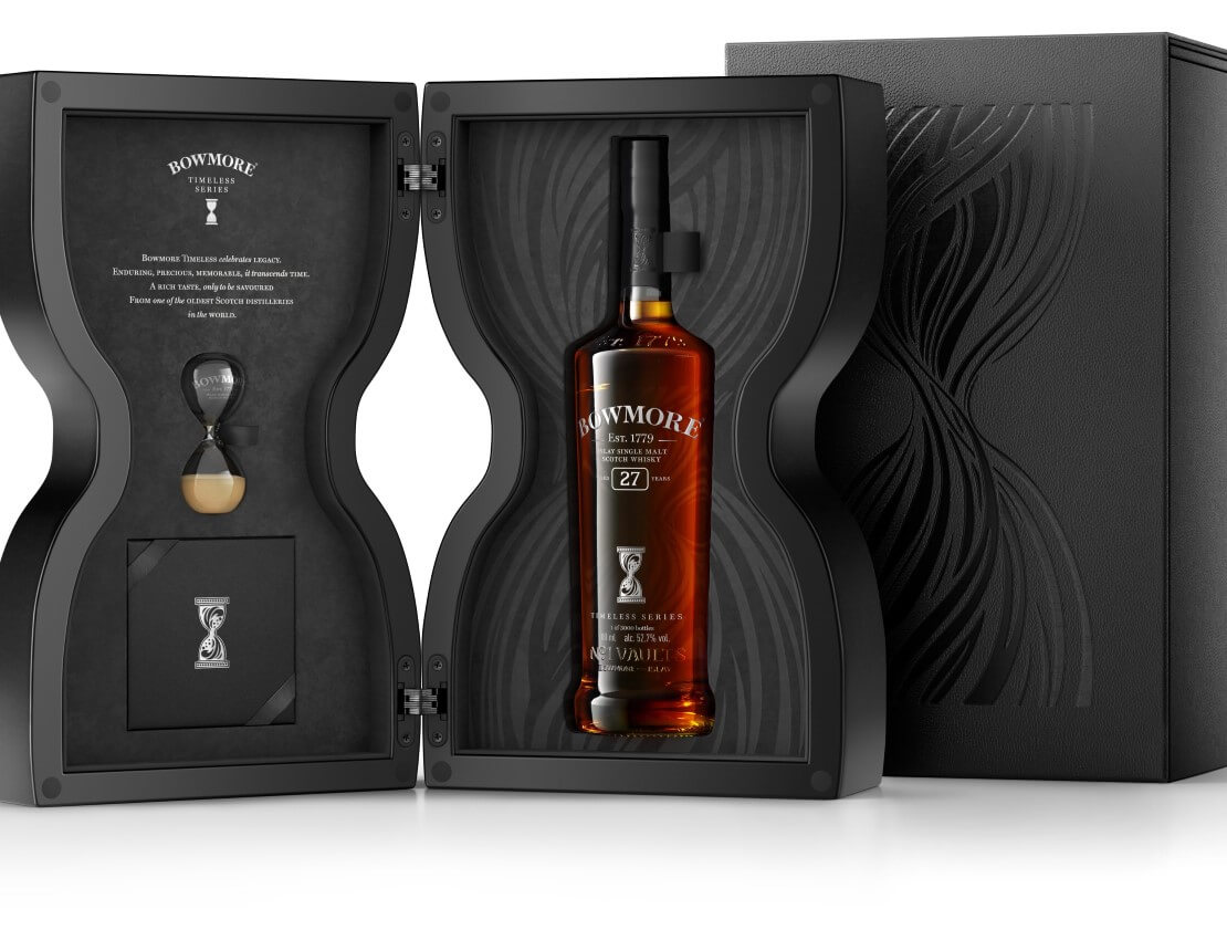 Bowmore launches new Timeless Series