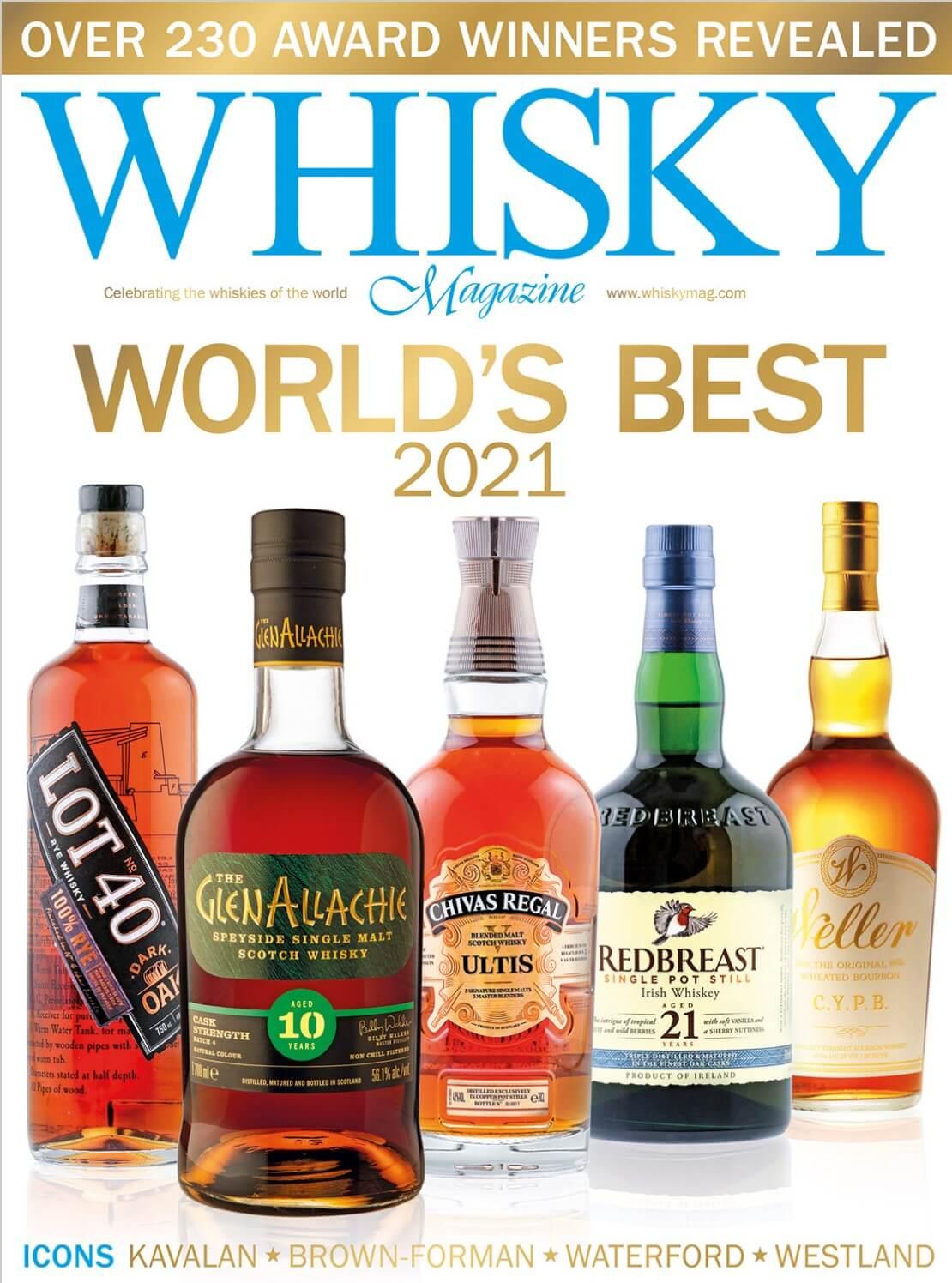 World Whiskies Awards 2021 Icons of Whisky Hall of Fame