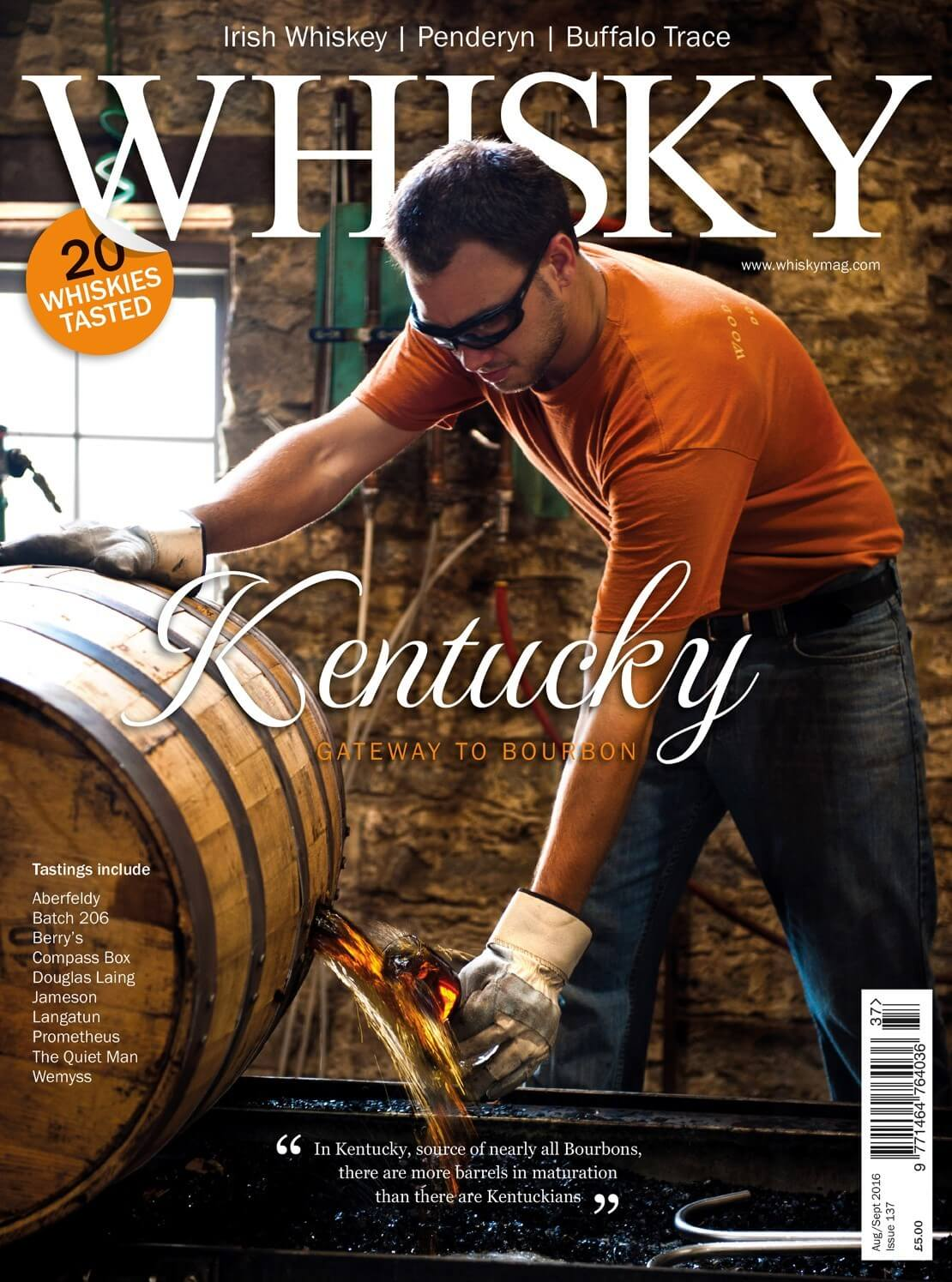 Irish whiskey Touring the Hebrides American whiskey supplement on Kentucky Bourbon