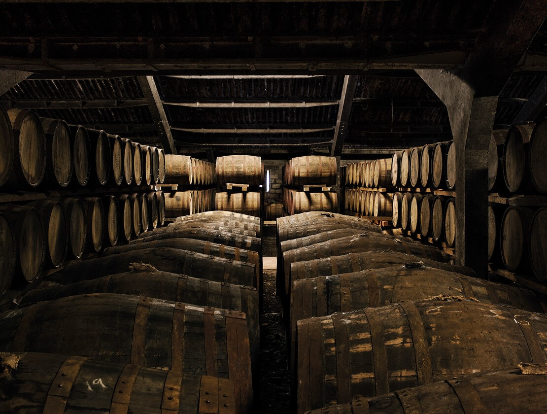 A Dalmore dunnage warehouse