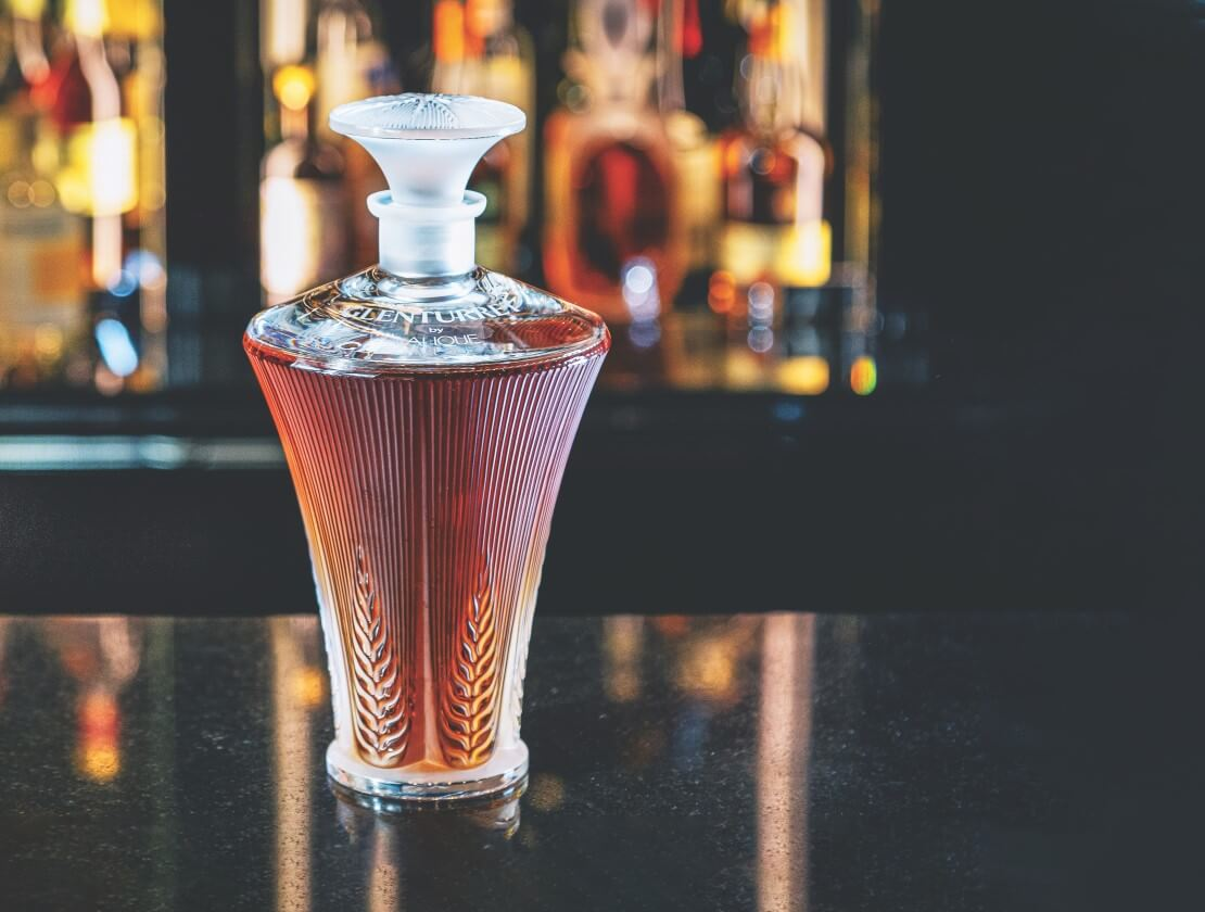 The Glenturret by Lalique Trinity series – Provenance decanter