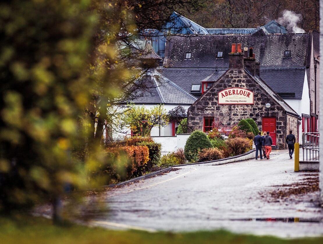 Aberlour Distillery welcomes visitors