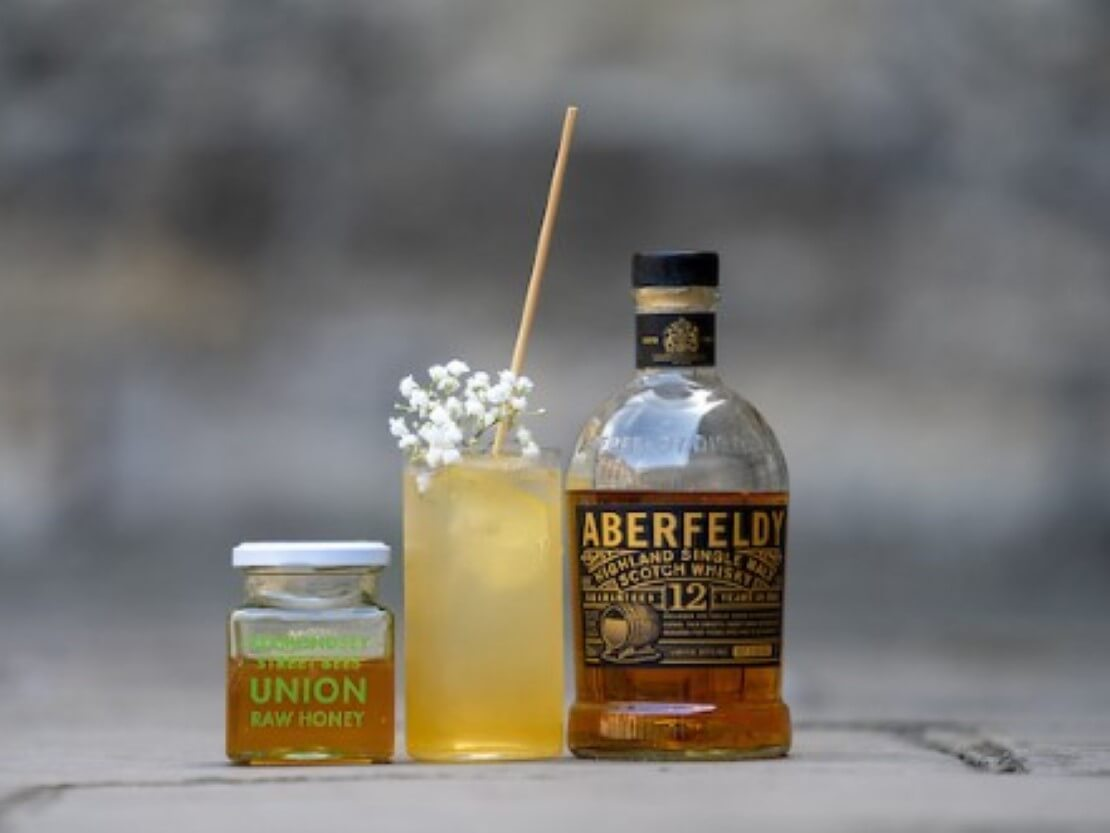 Cocktail of the Week: Herbed Honey Smash