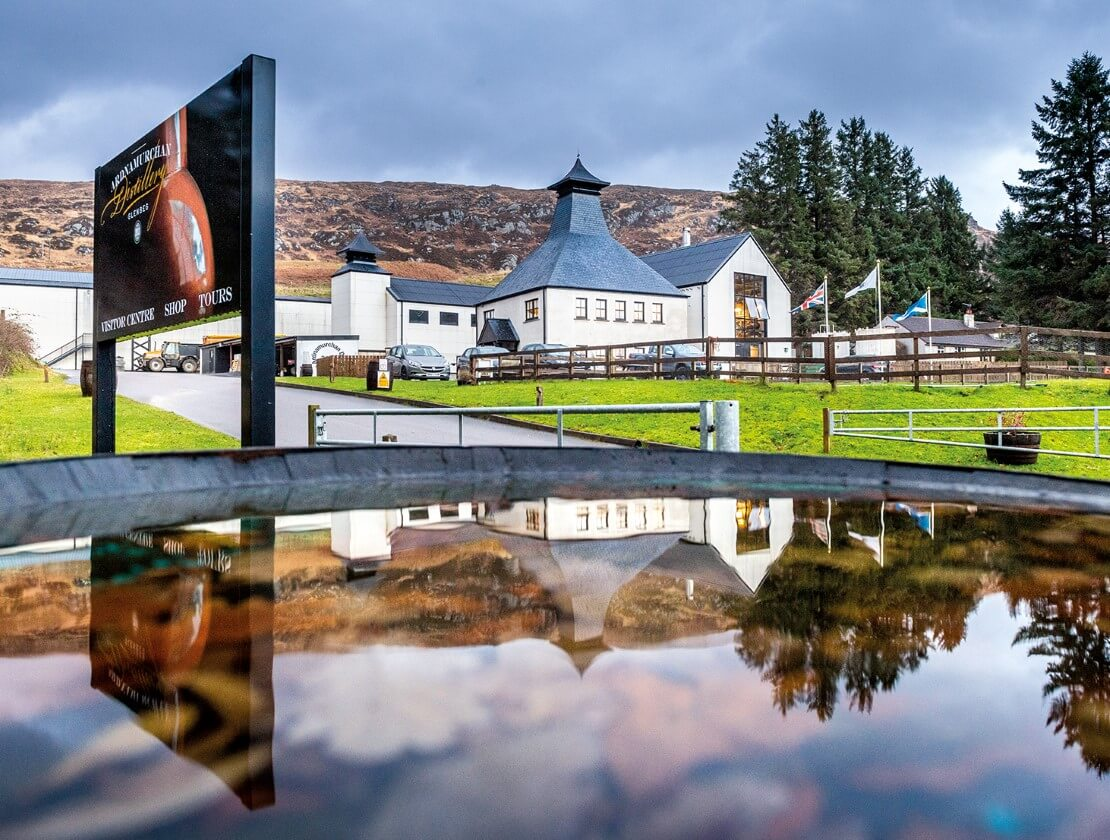Ardnamurchan won the title of Sustainable Distillery of the Year at Whisky Magazine's 2020 Icons of Whisky Scotland