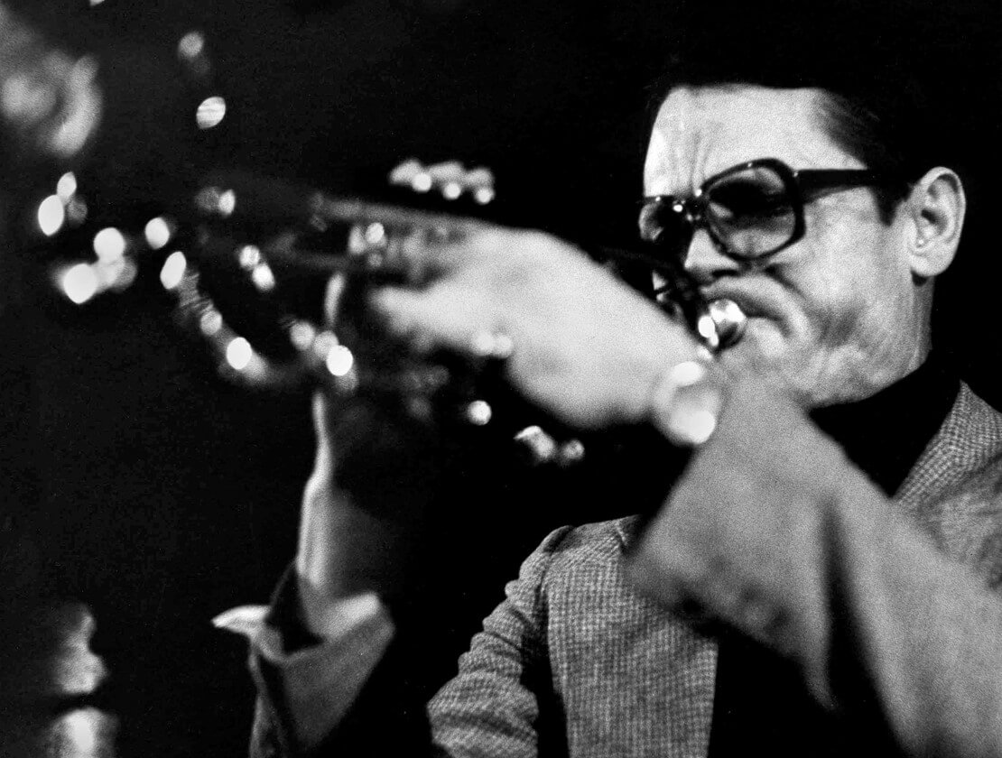Chet Baker in action