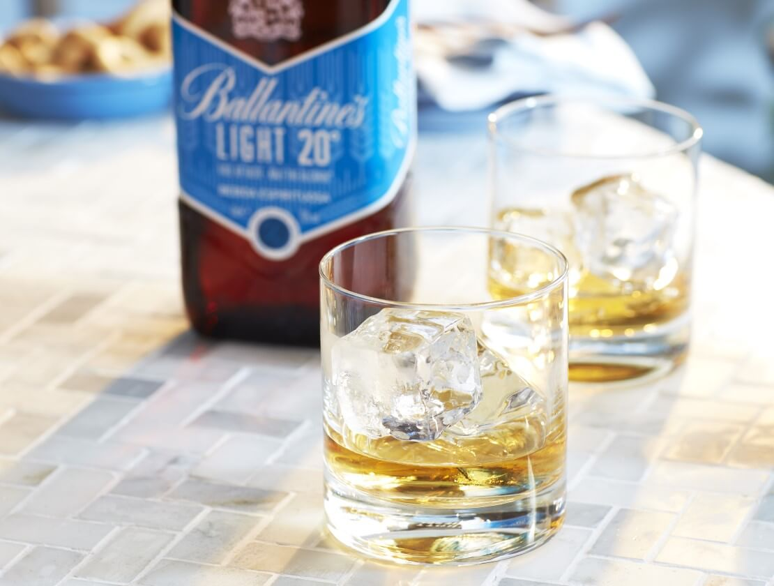 Ballantine's Light, the new release from Chivas Brothers