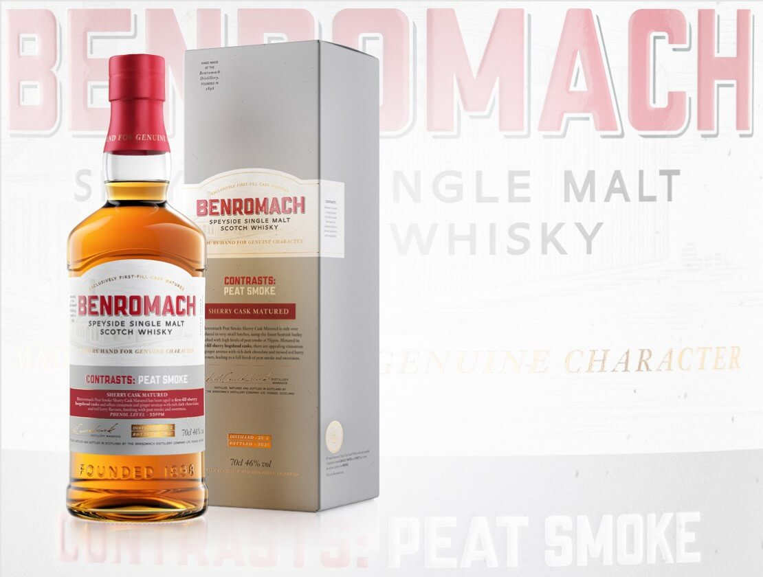 Benromach releases limited edition Peat Smoke Sherry Cask Matured single malt