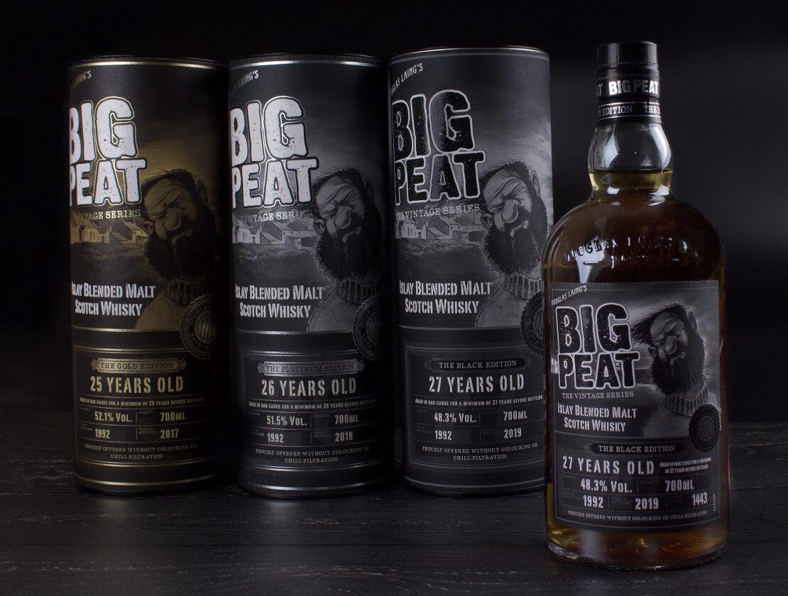 Big Peat's final Vintage Trilogy expression hits the shelves