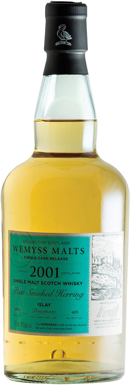 Wemyss Vintage Malts 2001, Peat Smoked Herring