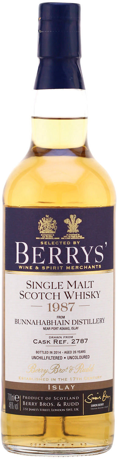 Berrys' Single Malt Scotch Whisky