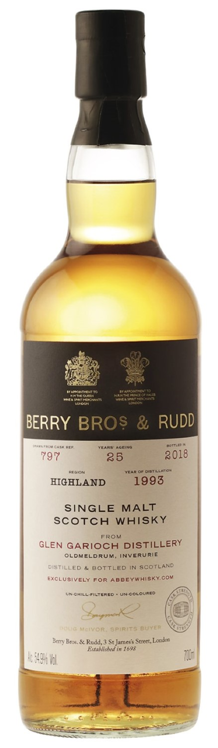 Berry Bros & Rudd (exclusively for Abbey Whisky)