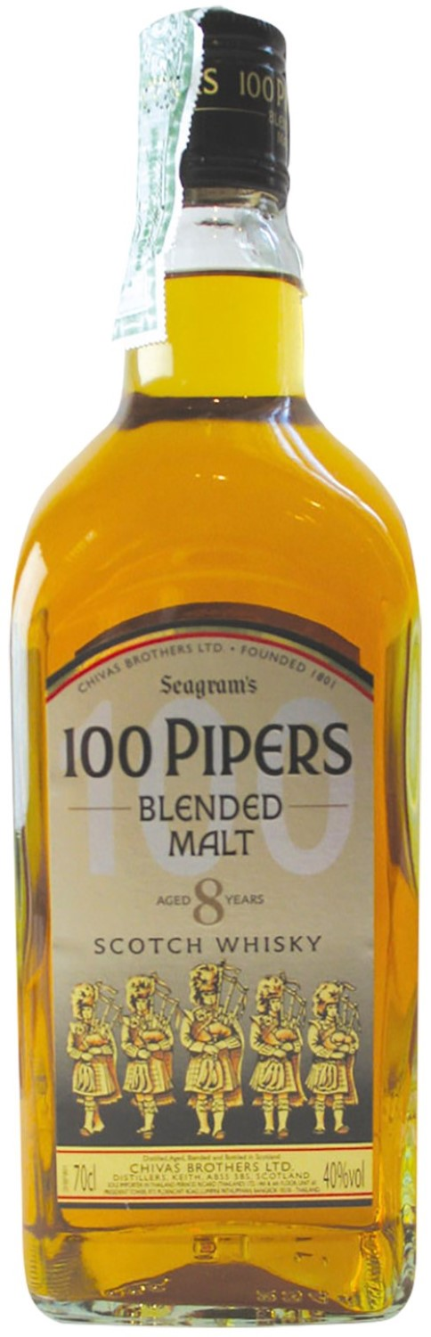 Chivas Brothers 100 Pipers