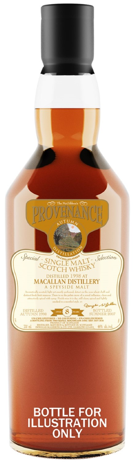 The McGibbon's Provenance