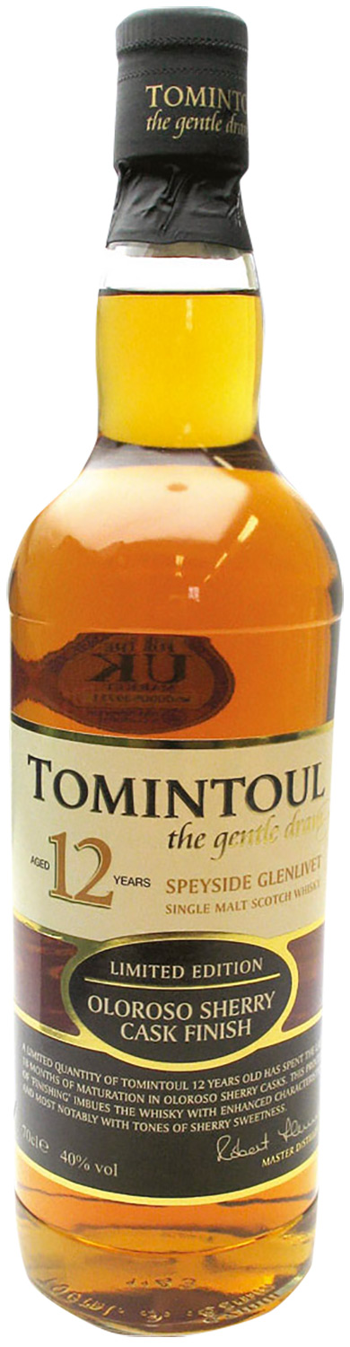 Tomintoul Oloroso Sherry Cask 12 Years Old