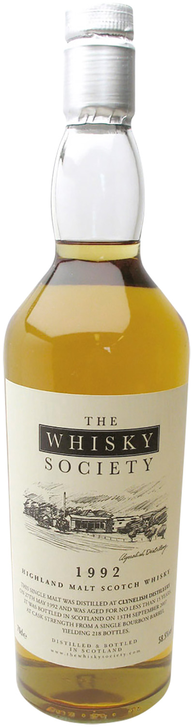 The Whisky Society Clynelish