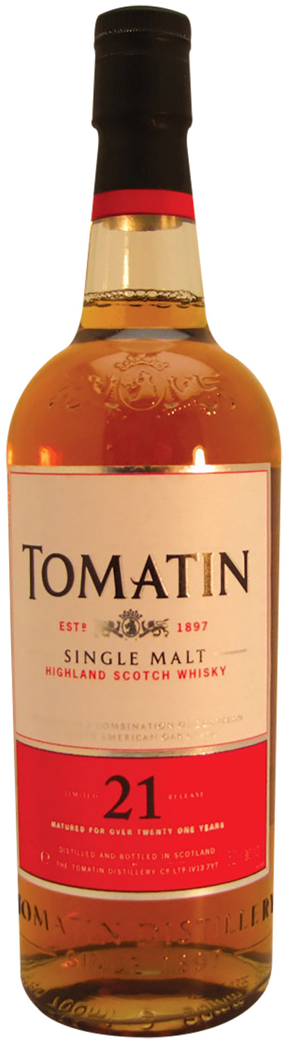 Tomatin 21 Years Old 1988