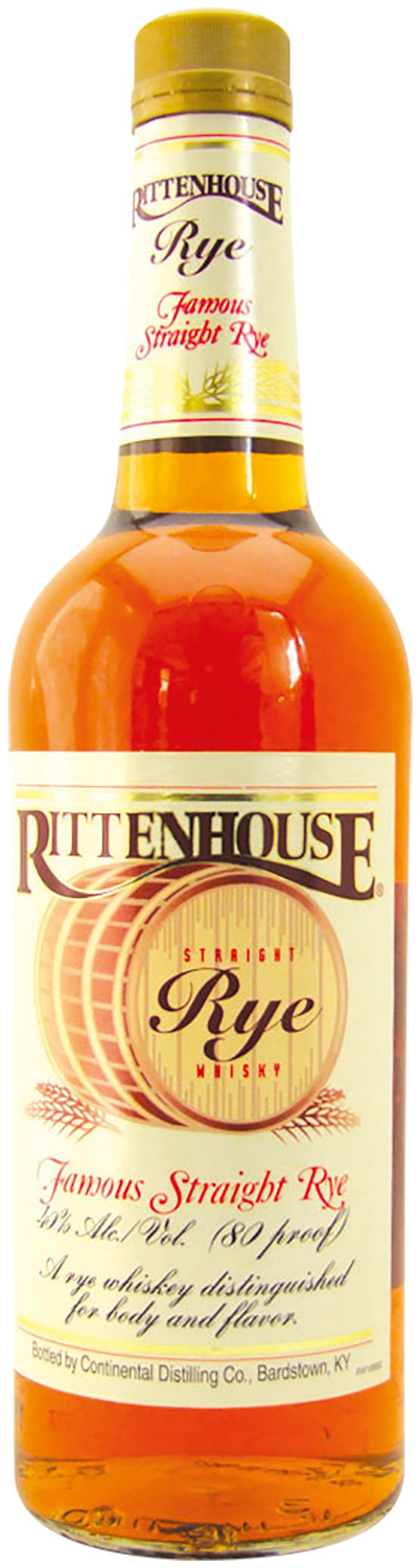 Rittenhouse Straight Rye 3 Years Old 2006