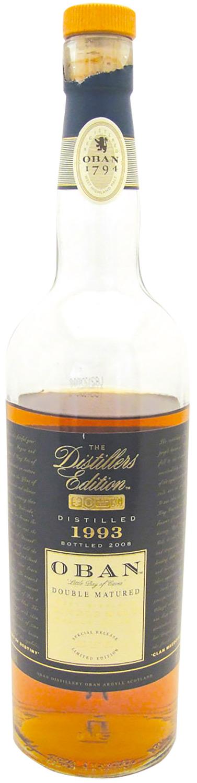 Oban Distillers Edition 1993 Montilla Fino