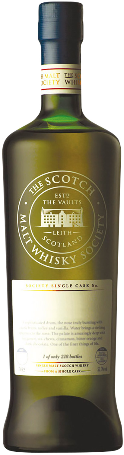 Scotch Malt Whisky Society 64.17 Mannochmore Oozes Juiciness 1992 16 Years Old