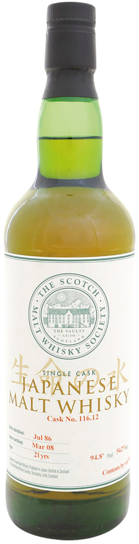 Scotch Malt Whisky Society 116.12 Yoichi 21 Years Old