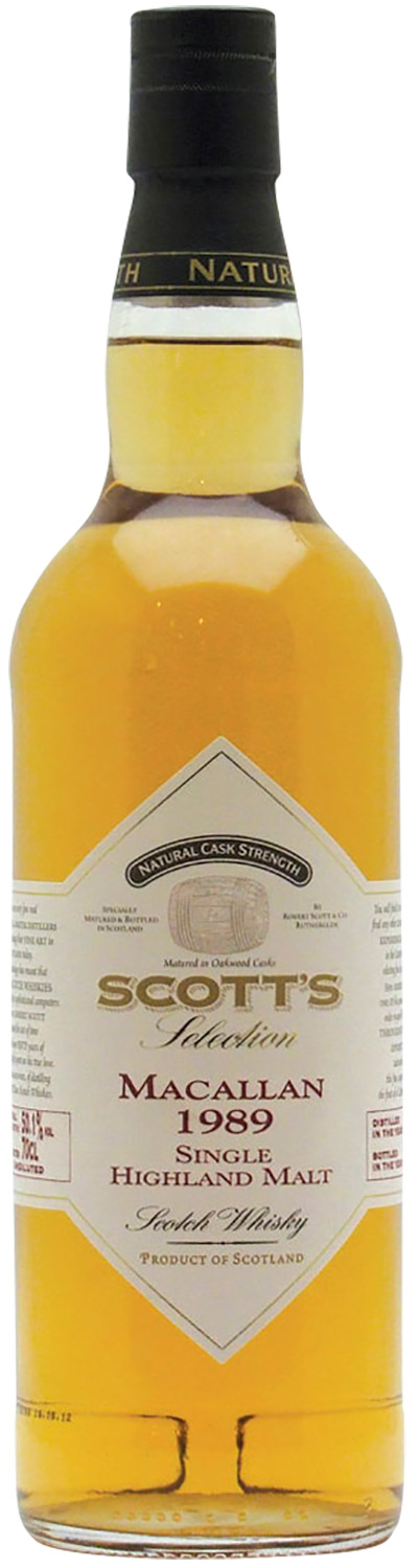 Scott's Selection Macallan 1989 23 Years Old