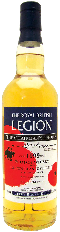 The Royal British Legion Glendullan 1999 12 Years Old