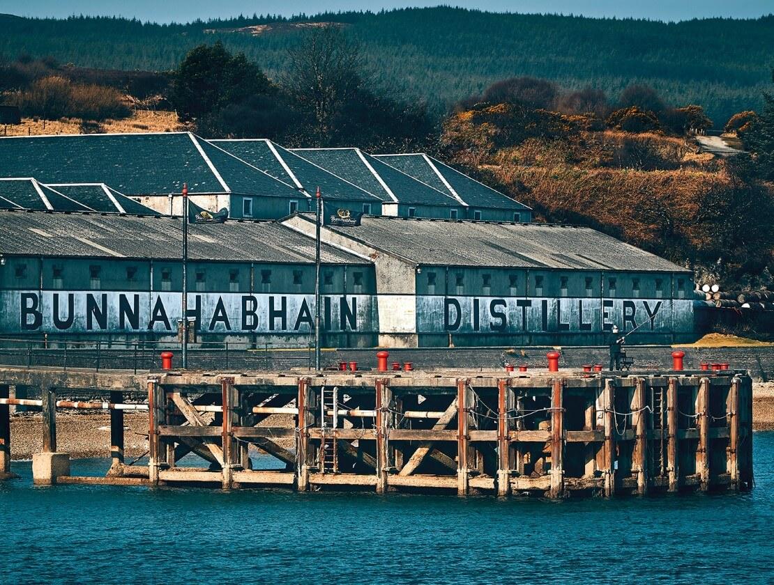 Bunnahabhain from the sea