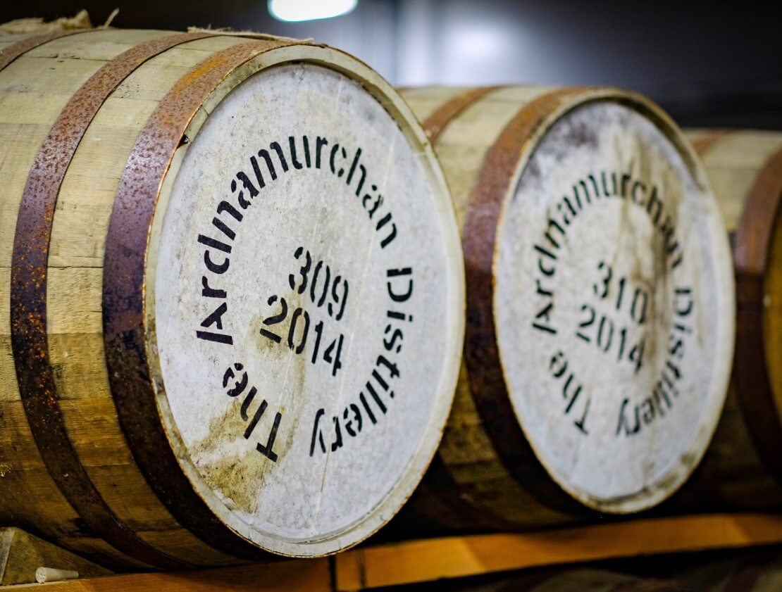 Casks of Ardnamurchan Spirit