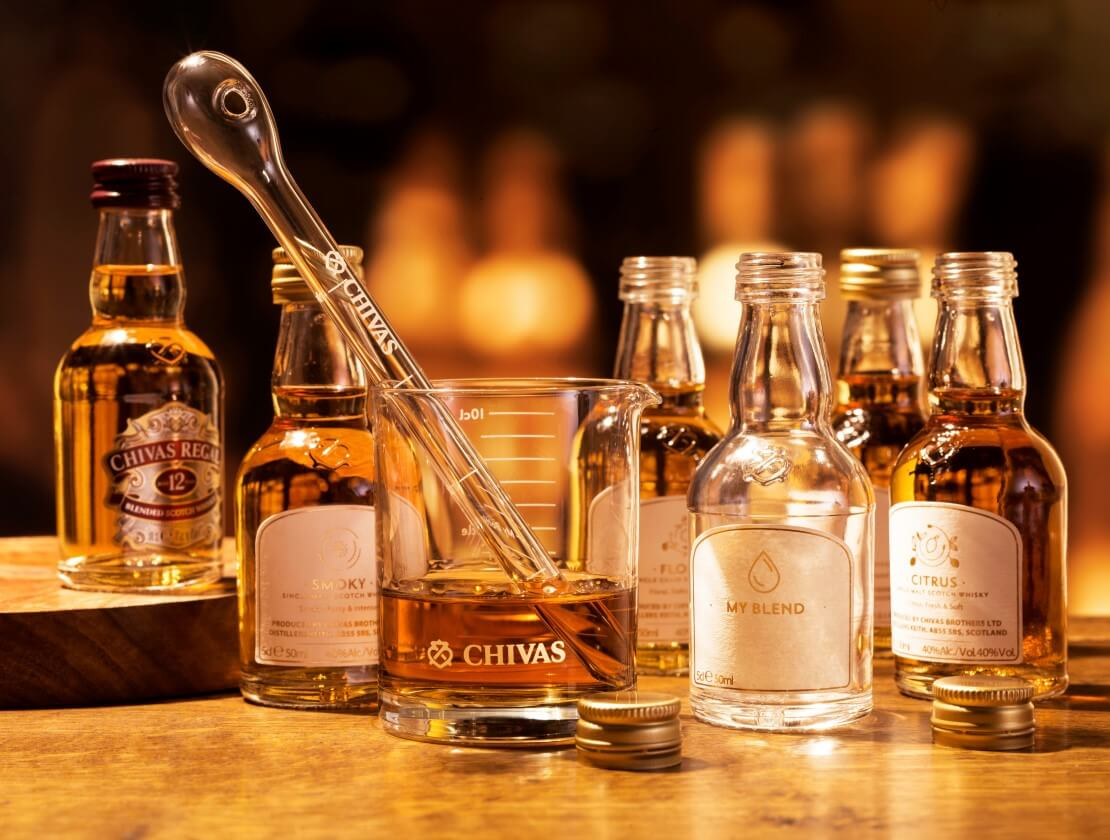 Blending at Home with Chivas' Experimental Gift Kit
