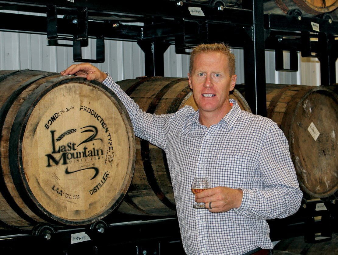 Colin Schmidt from Last Mountain Distillery