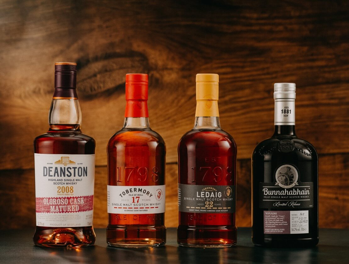 Distell's four limited-edition single malts