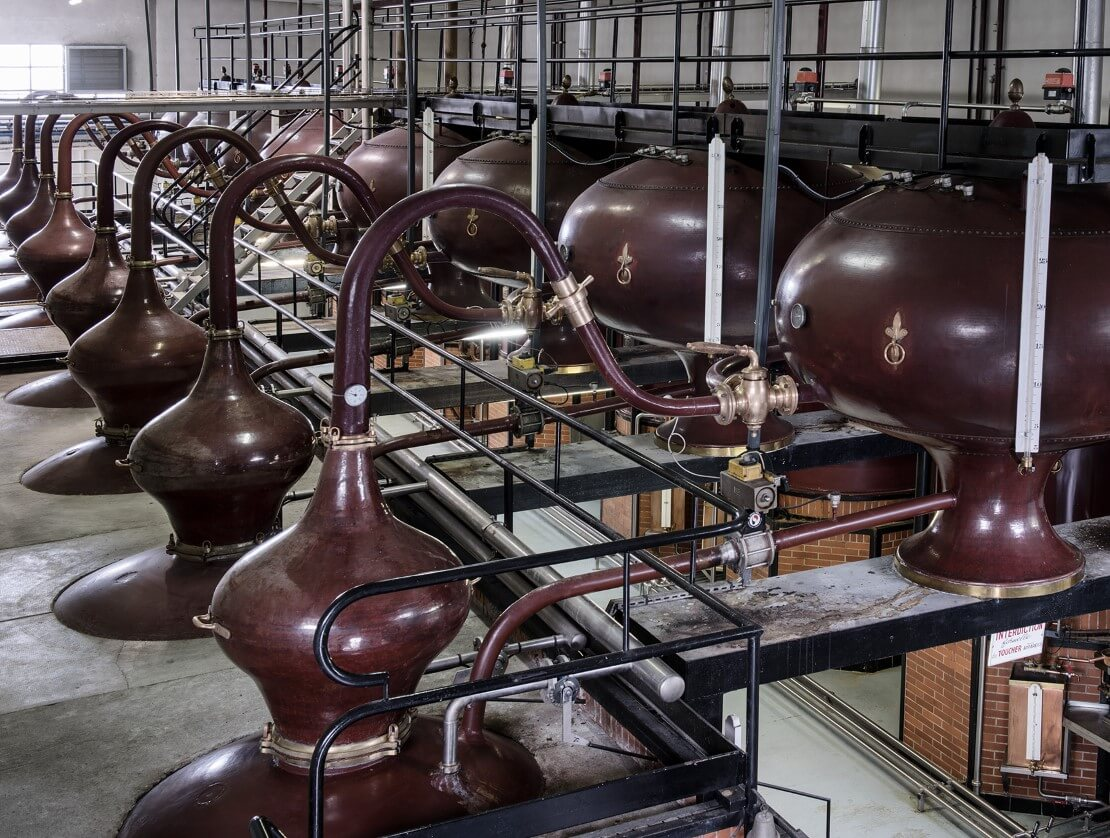 One of the sites at which Camus eau de vie is distilled.