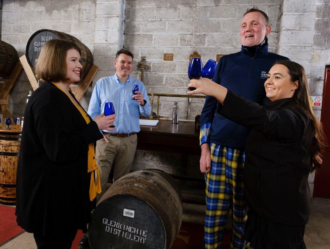 Diageo donates Glenkinchie cask in aid of rugby legend Doddie Weir's charity
