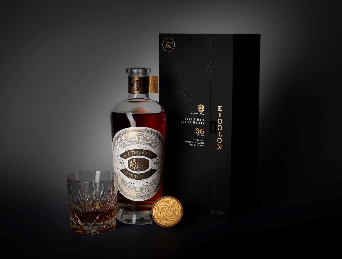 Hunter Laing launches new Eidolon series celebrating rare Port Ellen whisky